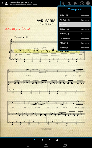【免費音樂App】Musicnotes Digital Sheet Music-APP點子