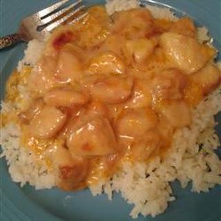 Creamy Orange Chicken