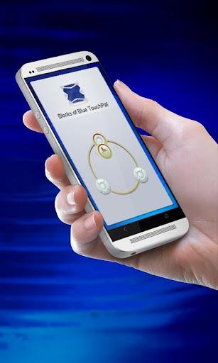 블루 의 블록 TouchPal Theme
