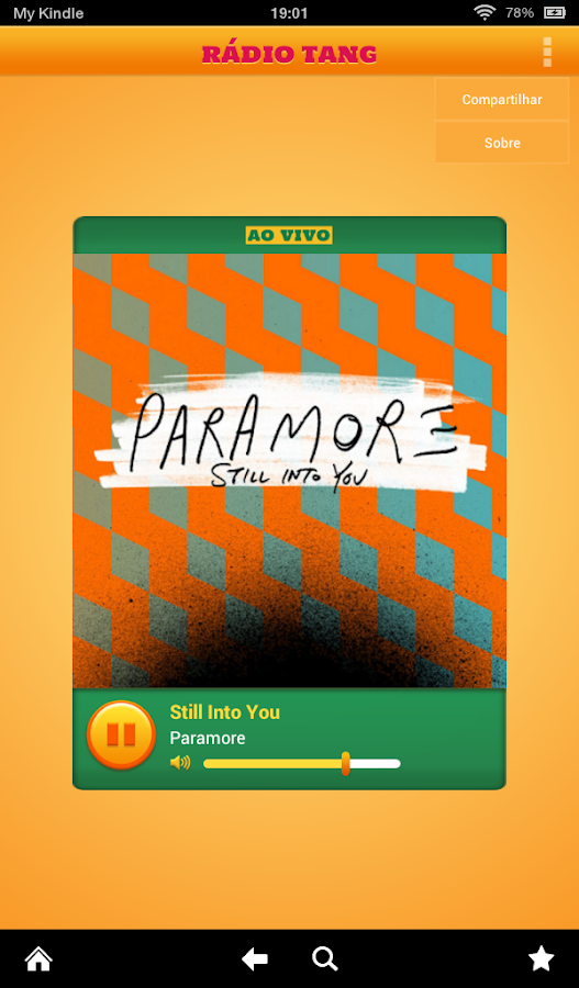 Rádio TANG - screenshot