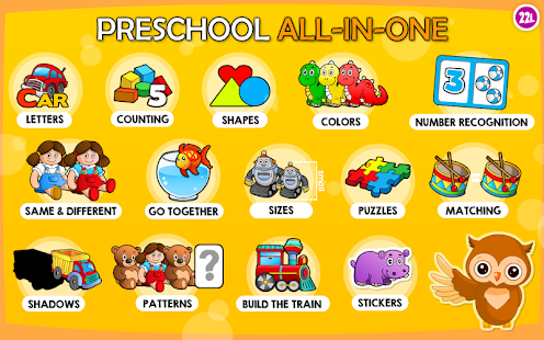 Preschool Learning Games Kids - Android Apps on Google Play