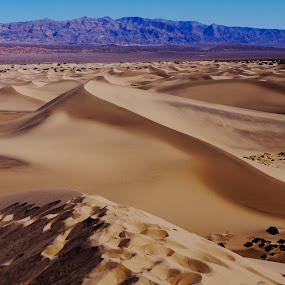 Peaks by John Chu - Landscapes Deserts ( death valley, desert dunes )