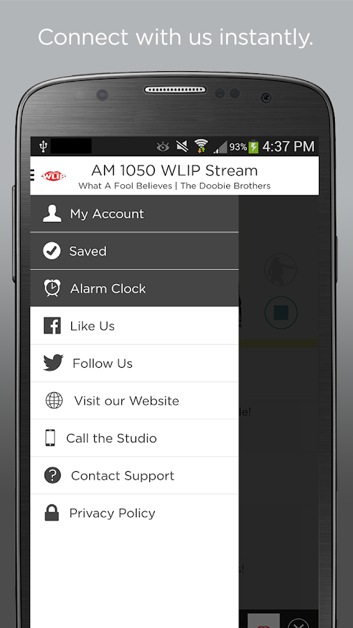 AM 1050 WLIP- screenshot