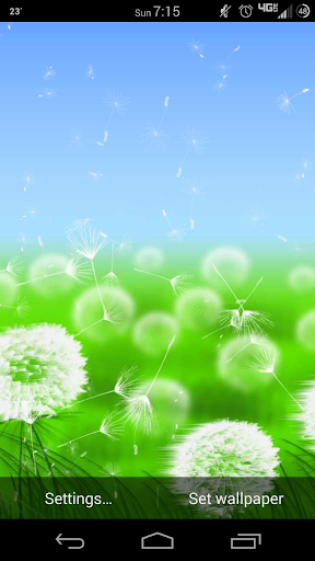 Windy Day Lite Live Wallpaper