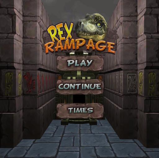 Rex Rampage - 3D Maze Puzzle