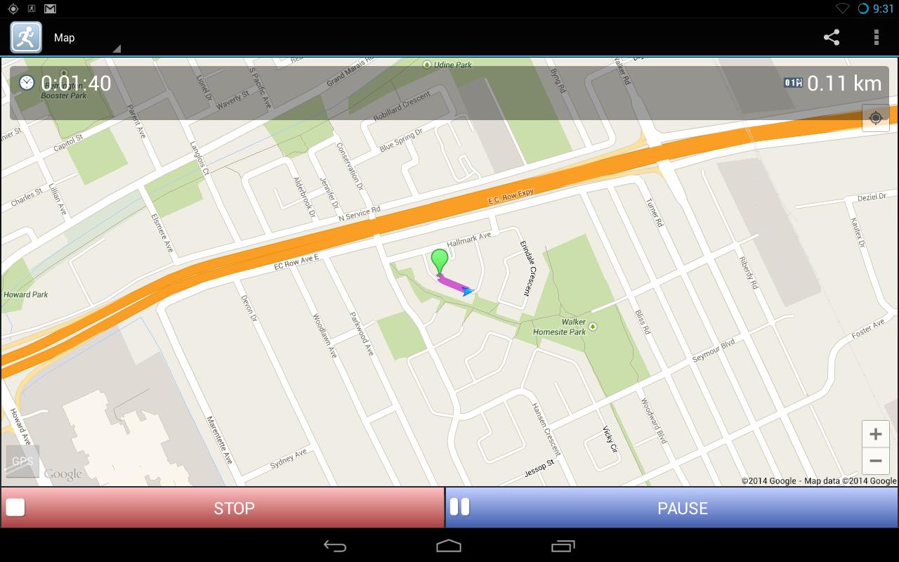 JogTracker Pro - screenshot