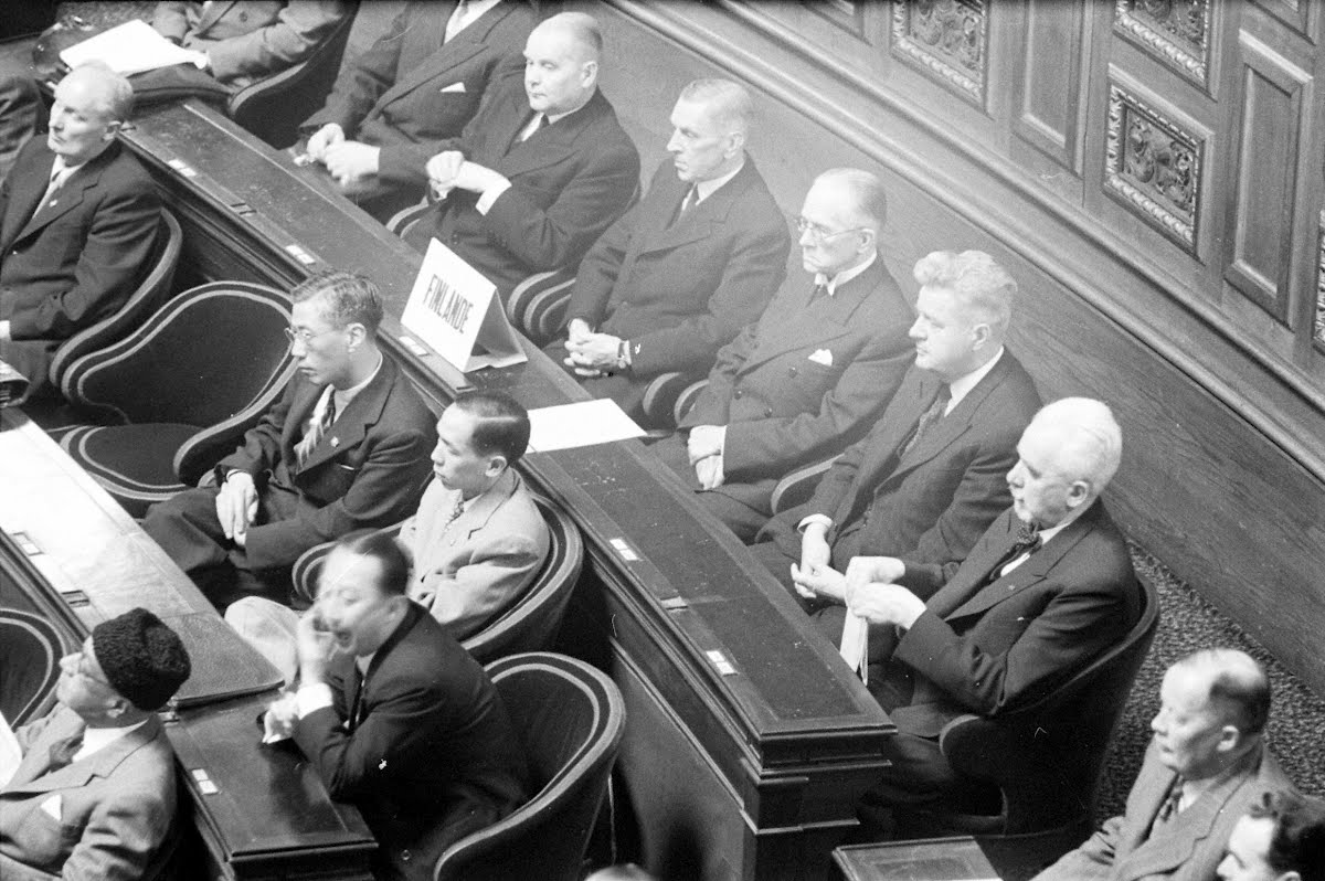 Finnish Delegation At The Peace Conference