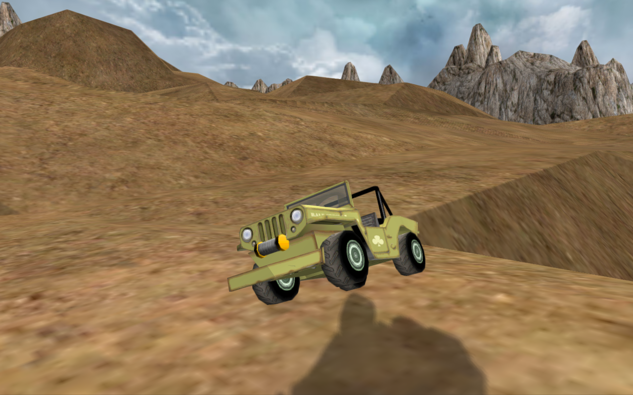 Jeep Offroad Driving 3D- screenshot