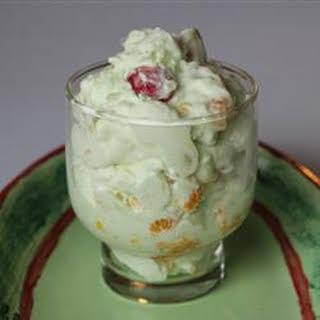 Pistachio Fluff Fruit Salad.