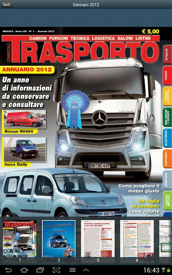 Trasporto Commerciale - screenshot