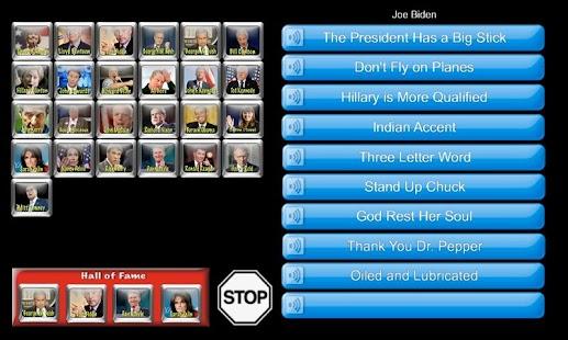 Pocket Politician Tablet