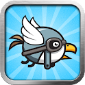 Bird rider icon