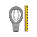Ruler and Screen Flashlight icon