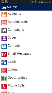 Dynamics CRM for phones - screenshot thumbnail