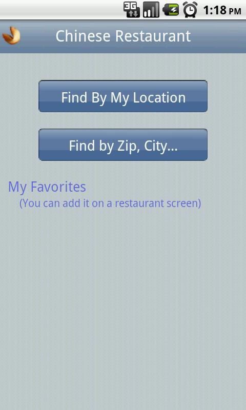 Chinese Restaurant- screenshot