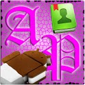 Go Contacts AdeaPink - Free icon