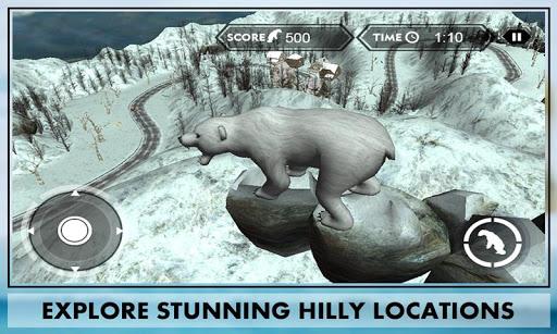 야생 곰 공격 복수의 3D