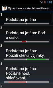 Angličtina - Gramatika Screenshot 4