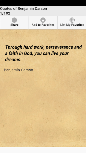 Quotes of Benjamin Carson