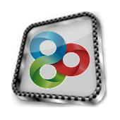 Go launcher Theme Glass 3D