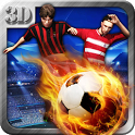 Free kicks Shooter 3D icon
