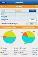 Screenshot of Nutritionist-Dieting made easy
