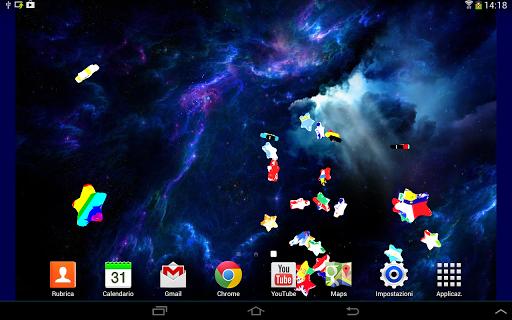 Pyro Stars - Live Wallpaper