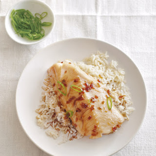 Roasted Black Cod with Korean Flavors.