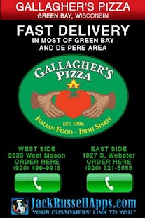 Gallagher's Pizza Green Bay- screenshot thumbnail
