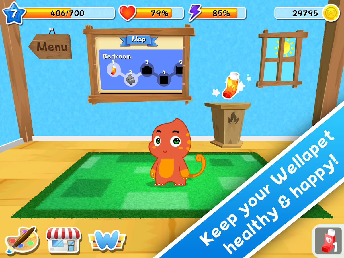 Wellapets - Asthma Education - screenshot