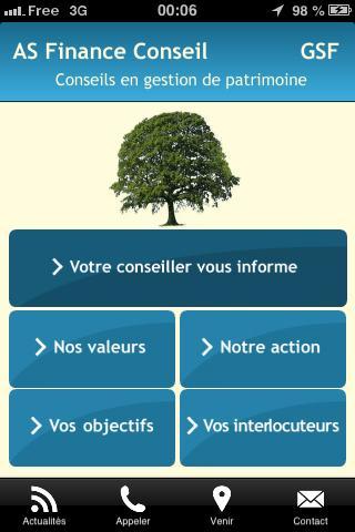 AS Finance Conseil GSF