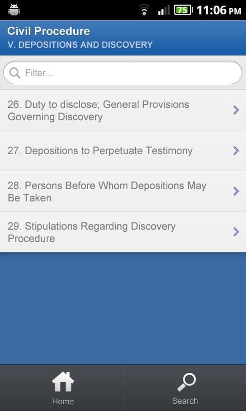 Ohio Revised Code - DroidLaw- screenshot