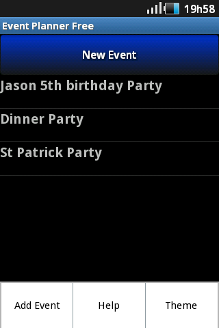 Event Planner Free- screenshot