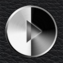 Poweramp Leather Skin 2 in 1 logo