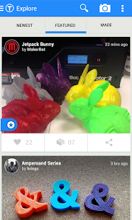 Thingiverse Screenshot 2