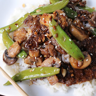 Asian Beef with Sugar Snap Peas