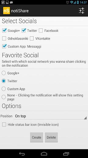 notiShare - Notification Share
