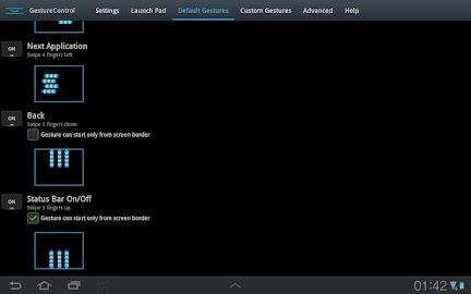 GMD GestureControl Lite ★ root Screenshot 16