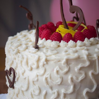 Lemon Raspberry Celebration Cake