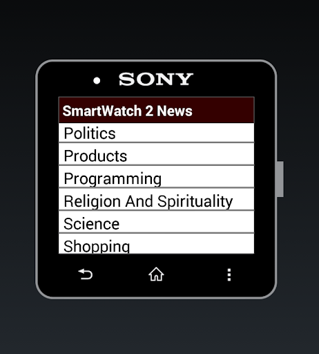 SmartWatch 2 News Extension