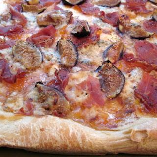Fig & Prosciutto Pizza.