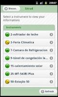 Screenshot of Sitrad Mobile