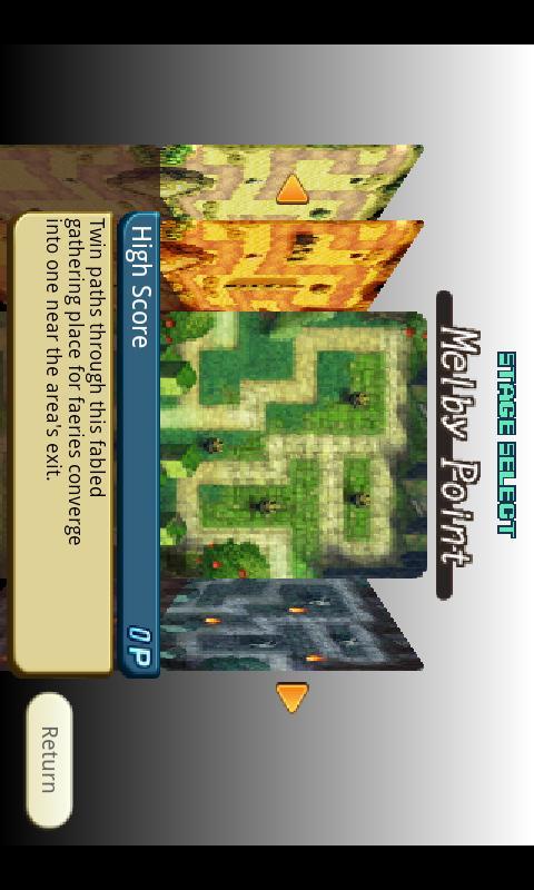 Crystal Defenders screenshot #2