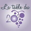 La Table du 20 icon