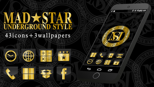 MADSTAR-Cool GOLD Icon+WP