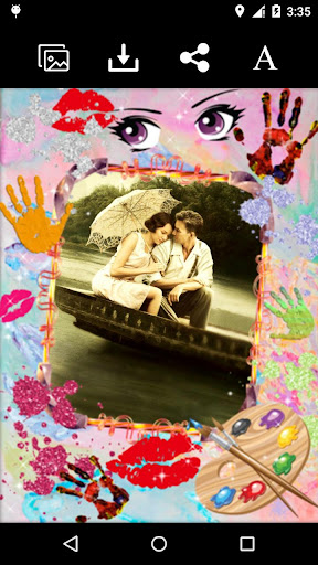 Collage Love Photo Frame
