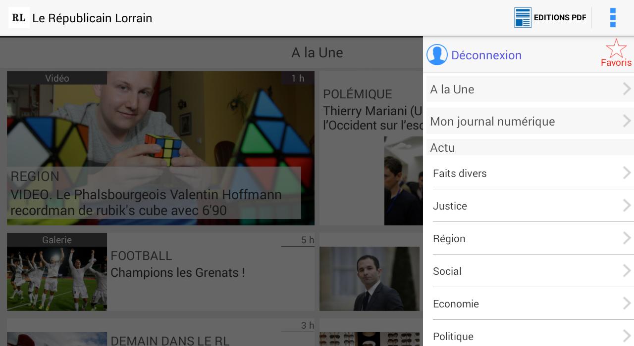 Le Républicain Lorrain - screenshot