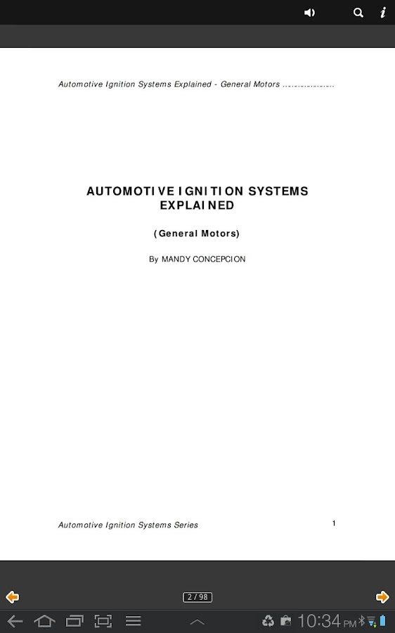 Automotive Ignition Systems GM- screenshot