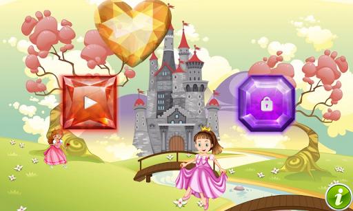 プリンセス着色のページ 女の子のためのゲーム