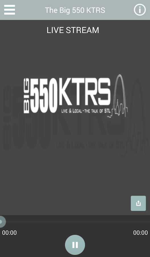 KTRS 550– captura de ecrã